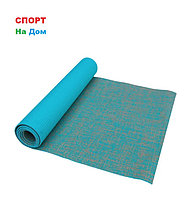 Йога мат джутовый коврик для фитнеса (размеры: 61*183*0,6 см)