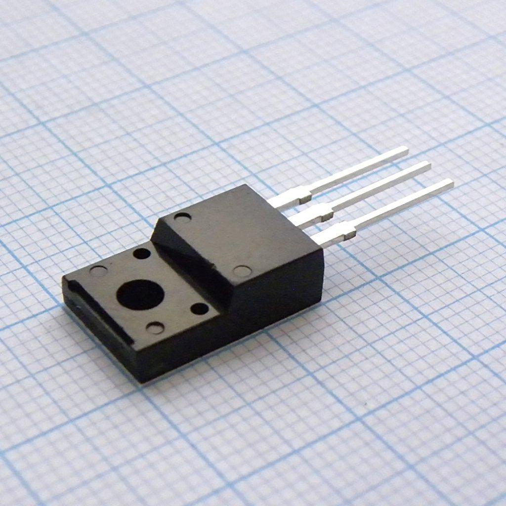 Полевой транзистор SPA20N60C3 N-канальный, 600 В, 20 А, 34 Вт