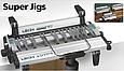 Устройство для пылеудаления и поддержки фрезера для шипорезок Leigh Super, фото 3