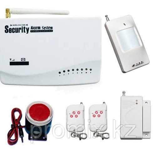 Охранная GSM Сигнализация  Security Alarm System