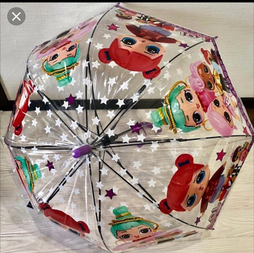 Зонт-трость детский 3D