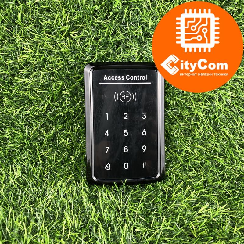 Панель контроля доступа SmartLock DS-T20ID: кнопки + карта 125kHz +WG26. СКУД. Панель накладная. Сенсорная.