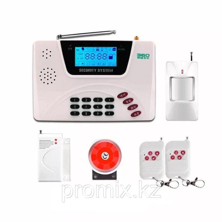 Домашняя gsm сигнализация   Security Alarm System