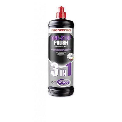 One step polish 3 in 1 Универсальная среднеабразивная доводочная полировальная паста MENZERNA  1кг