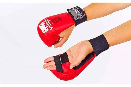 Накладки на руки для каратэ Venum Размер S (красный), фото 2