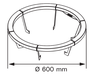 Деревянное ограждение HGL6 для Harvia Globe GL70, фото 8