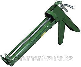 Пистолет для герметика STAYER 0661, полукорпусной, зубчатый шток, 310мл