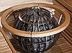 Деревянное ограждение HGL7 для Harvia Globe GL110, фото 3
