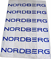 ПАКЕТ ДЛЯ ШИН ПНД 110х110см 18мкм белый с логотипом NORDBERG (100 шт.)