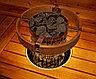 Деревянное ограждение c LED подсветкой HPC3L для Harvia Cilindro PC70/PC90, фото 5