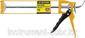 """Пистолет для герметиков STAYER """"MASTER"""" 0666, скелетный усиленный, 310мл"""