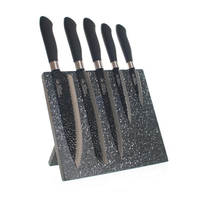 Ножи на магнитной подставке Gottinni 5 шт