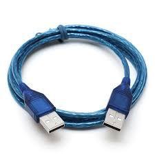 Кабель USB папа-папа (USB AM - USB AM) 1,5 метра