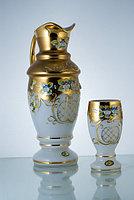 Набор для воды белый Pivo A (JN Glass, Чехия)