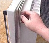 Замена уплотнителя двери холодильника