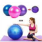Мяч для фитнеса Fitball Hedgehog HG-0105 85см, фото 6