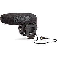 Микрофон Rode VideoMic Pro Compact Shotgun с ветрозащитой из меха