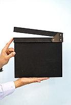 Кино-хлопушка Черная (деревянная), фото 3
