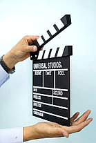 Кино-хлопушка Черная (деревянная), фото 2