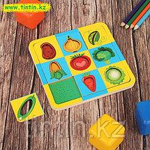 """Рамка - вкладка """"Овощи-фрукты"""" двусторонняя, фото 2"""