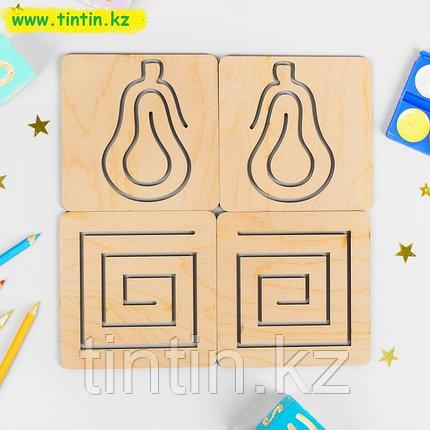 Межполушарная доска для рисования двумя руками, 10 дощечек, фото 2