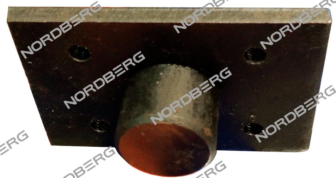 NORDBERG ОПЦИЯ НАСАДКА на лапу с металлическим основанием восьмигранная для подъемника N4120A-4T