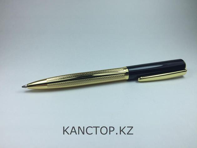 Ручка шариковая подарочная золотая, фото 2