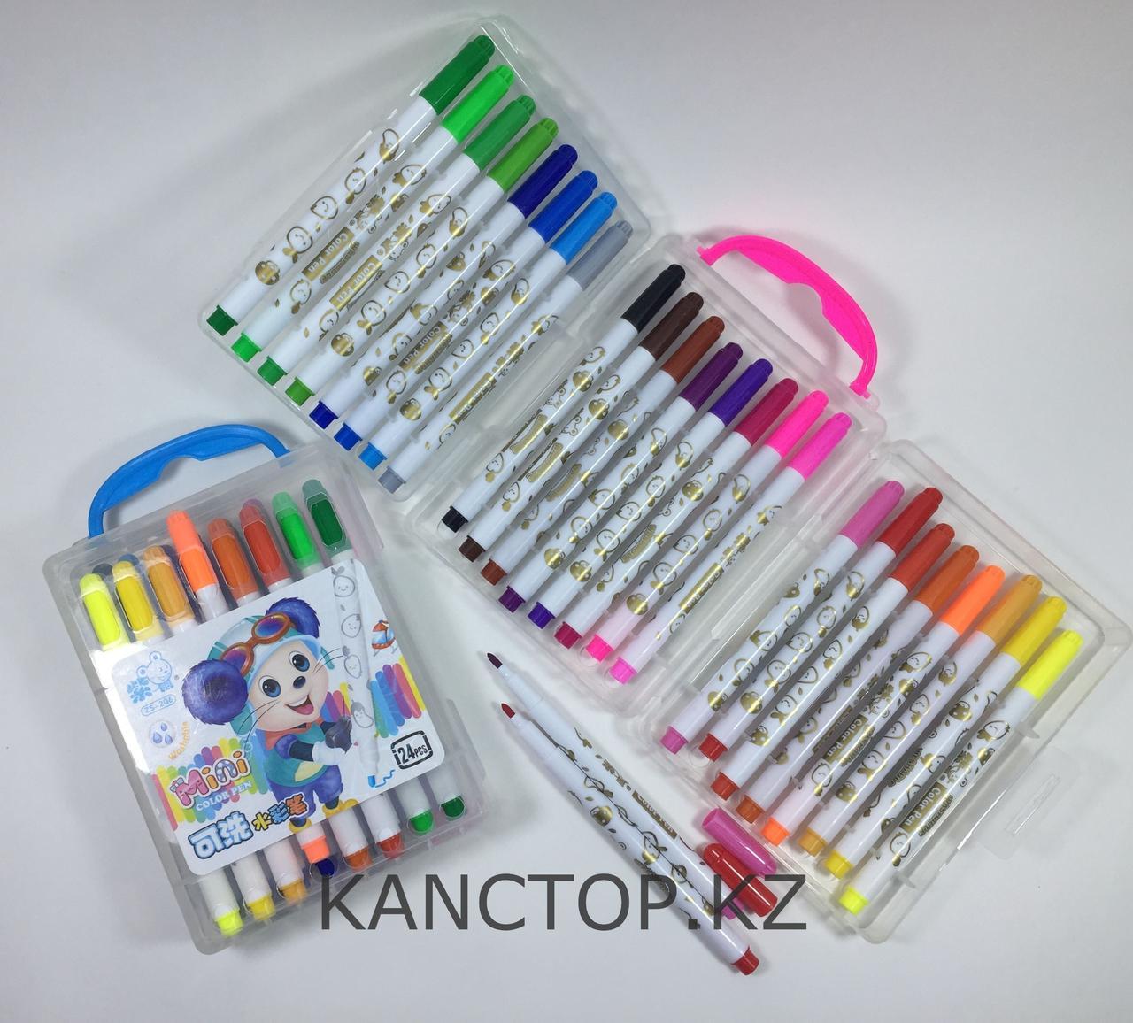 Фломастеры Mini, 24 цветов