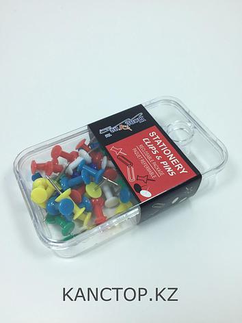 Кнопки гвоздики Stationery clips & pins, фото 2