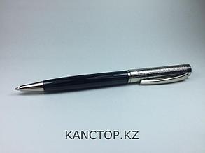 Ручка шариковая подарочная цвет чёрный серебристый