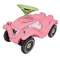 Детская машинка-каталка BIG Bobby Car Classic розовые цветы, фото 1