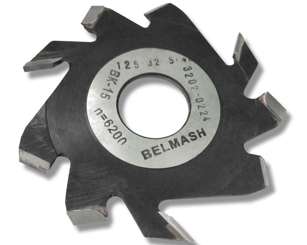 125х32х8 мм Фреза пазовая с подрезающими зубьями