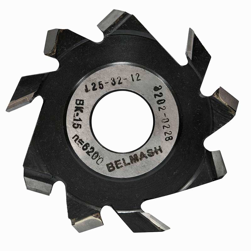 125х32х12 мм Фреза пазовая с подрезающими зубьями, BELMASH
