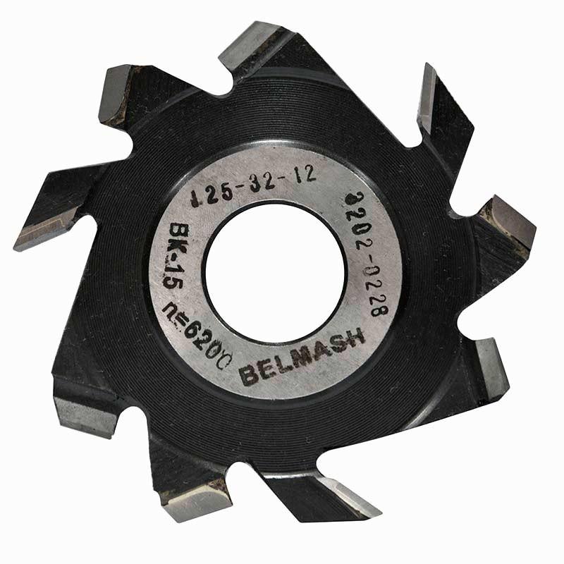 125х32х14 мм Фреза пазовая с подрезающими зубьями BELMASH