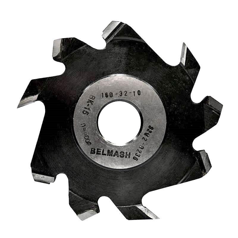 160х32х10 мм Фреза пазовая с подрезающими зубьями BELMASH