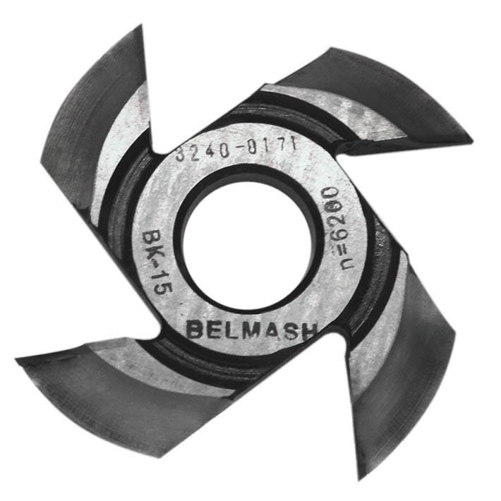 BELMASH 125х32х21 мм Фреза радиусная для фрезерования полуштапов (правая)