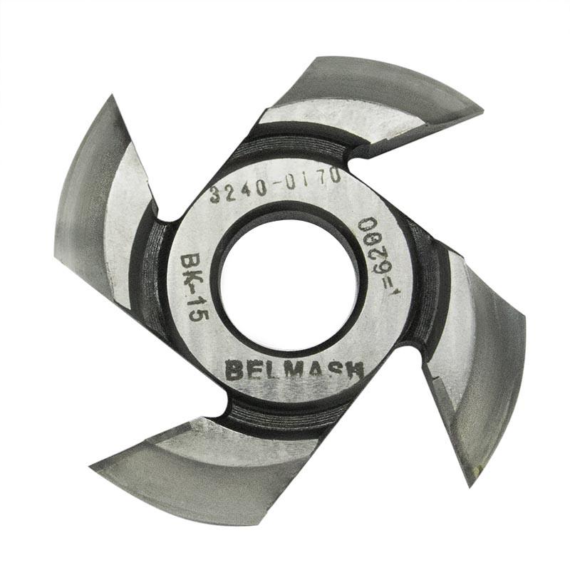 BELMASH 125х32х17 мм Фреза радиусная для фрезерования полуштапов (правая)