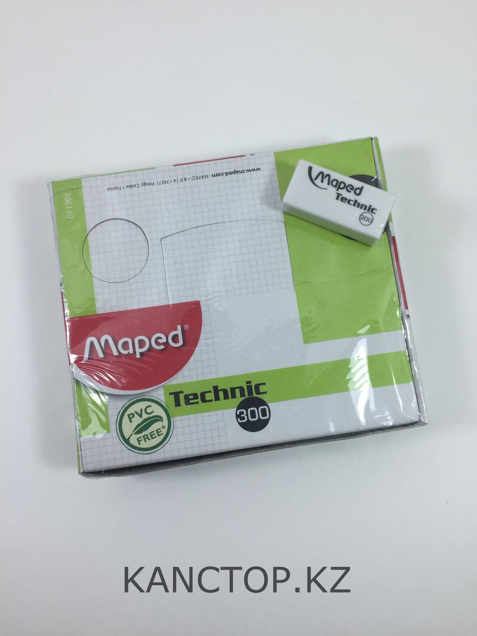 Ластик резинка Maped Technic белая