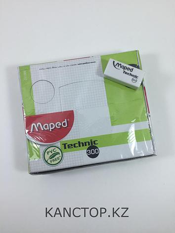 Ластик резинка Maped Technic белая, фото 2