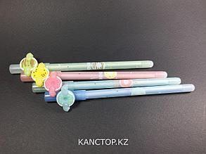 Ручки стирающиеся тонкие, фрукты 3
