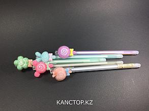 Ручки стирающиеся тонкие, фрукты 1