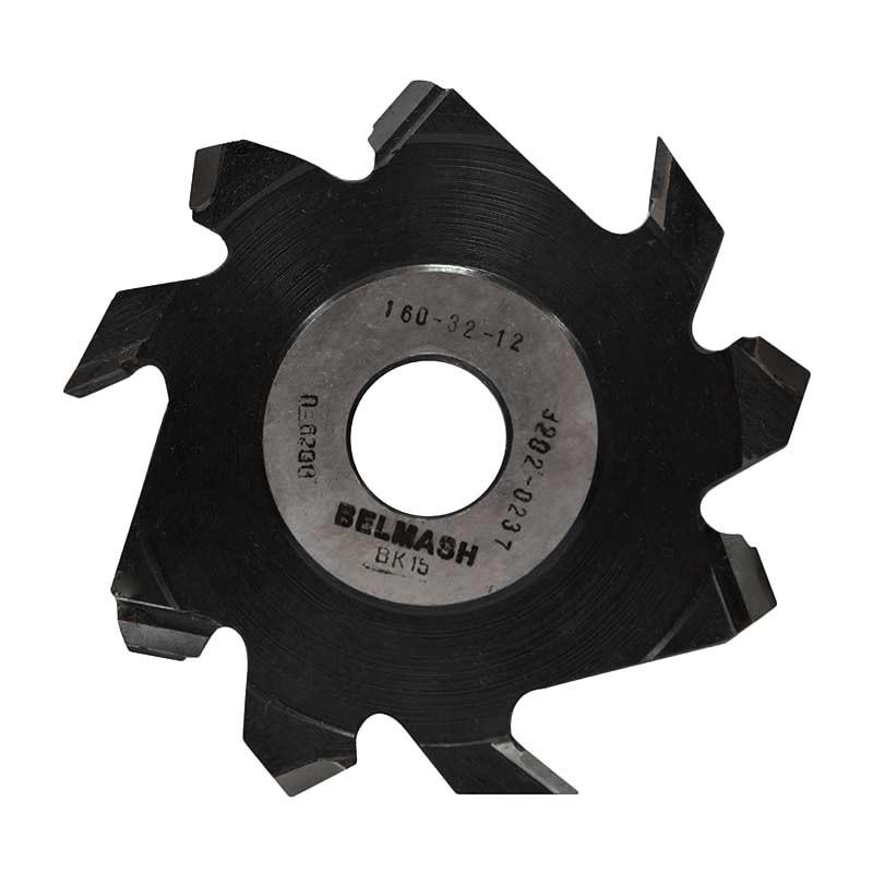 160х32х12 мм Фреза пазовая с подрезающими зубьями BELMASH