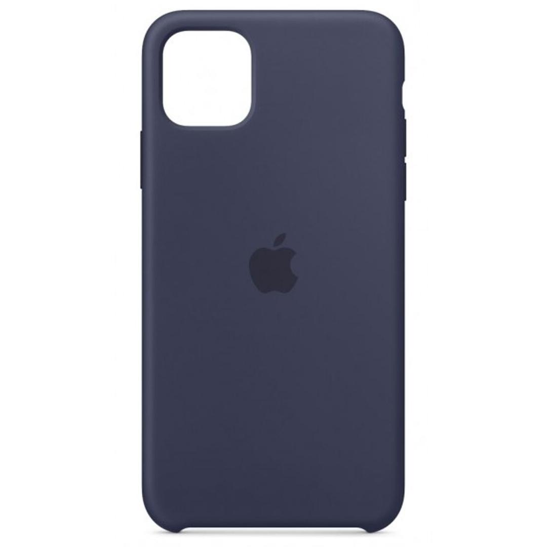 Силиконовый чехол для Apple iPhone 11 (Midnight blue)