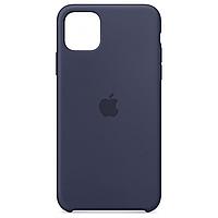 Силиконовый чехол для Apple iPhone 11 (Midnight blue), фото 1