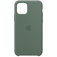 Силиконовый чехол для Apple iPhone 11 (Pine Green)