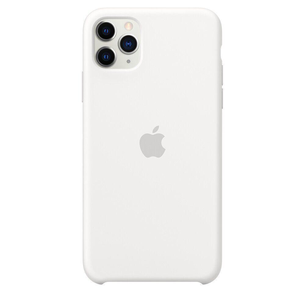 Силиконовый чехол для Apple iPhone 11 Pro (White)