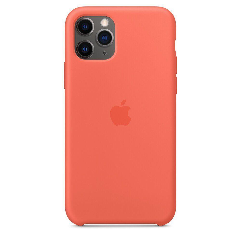 Силиконовый чехол для Apple iPhone 11 Pro Clementine (Orange)