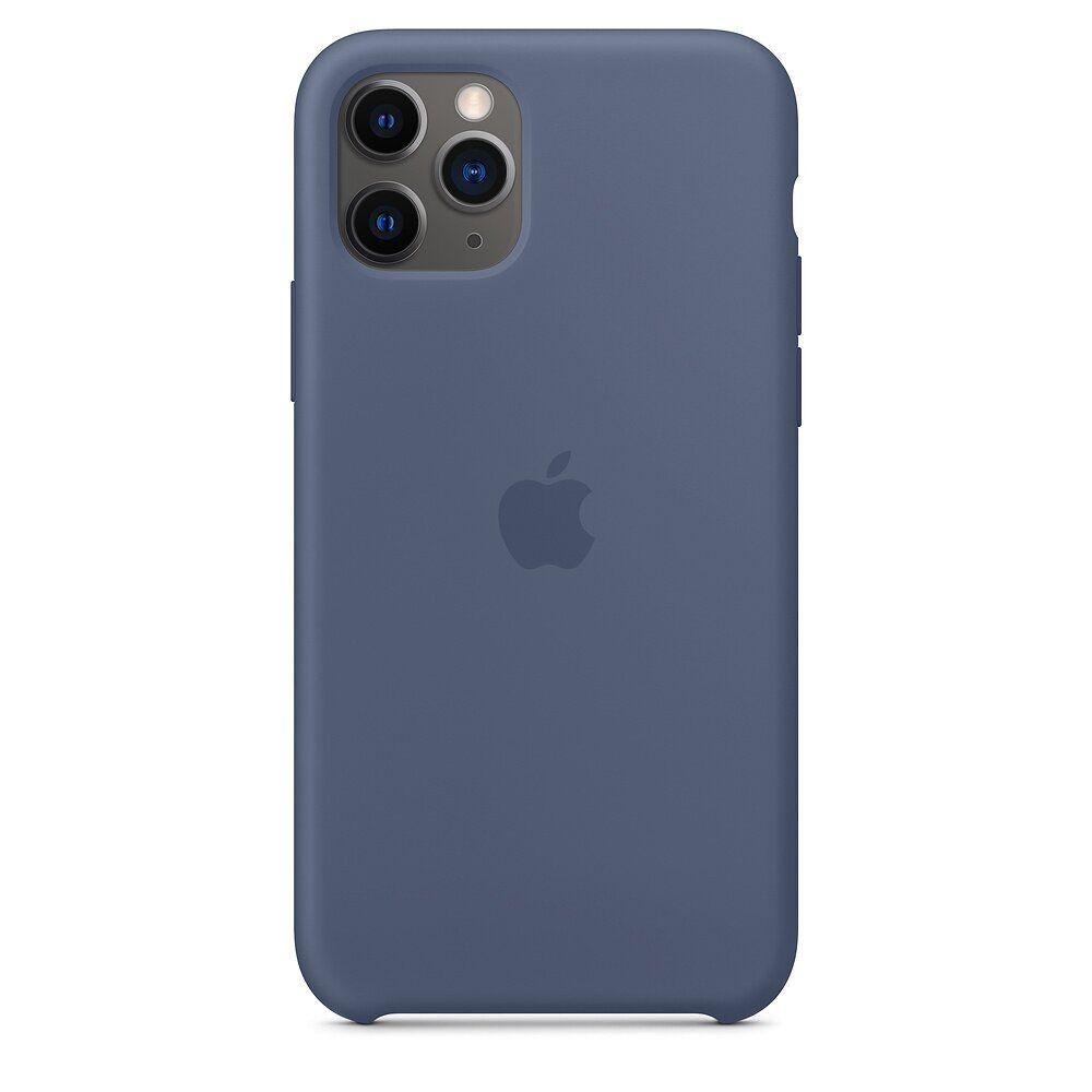 Силиконовый чехол для Apple iPhone 11 Pro (Alaskan Blue)
