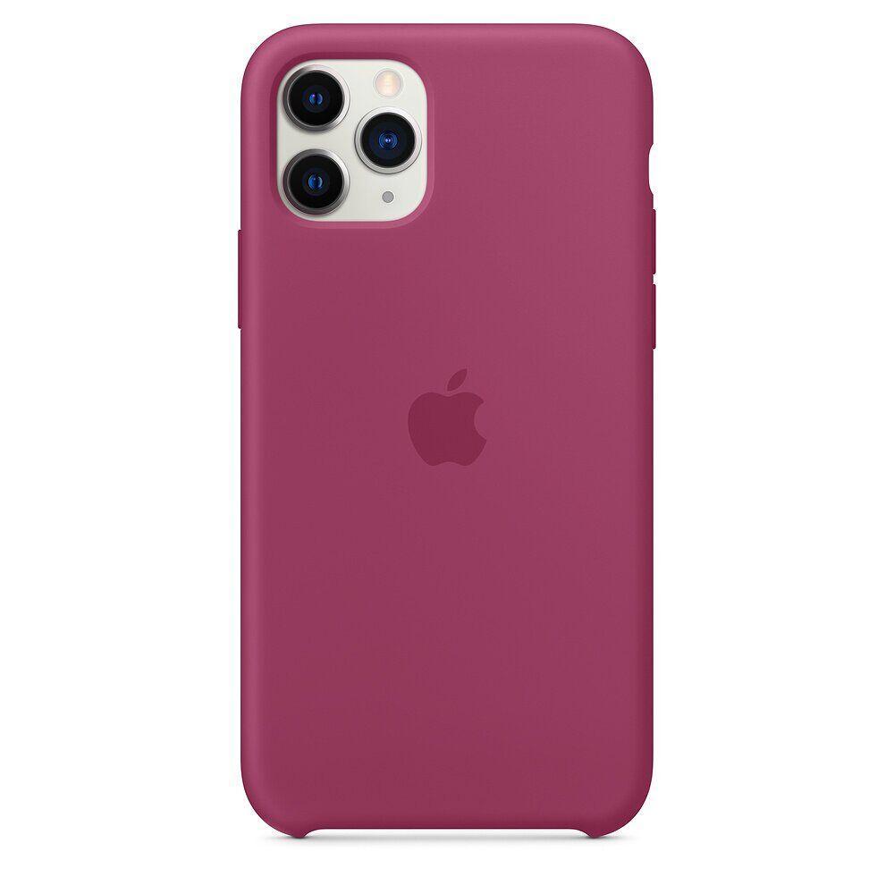 Силиконовый чехол для Apple iPhone 11 Pro (Pomegranate)