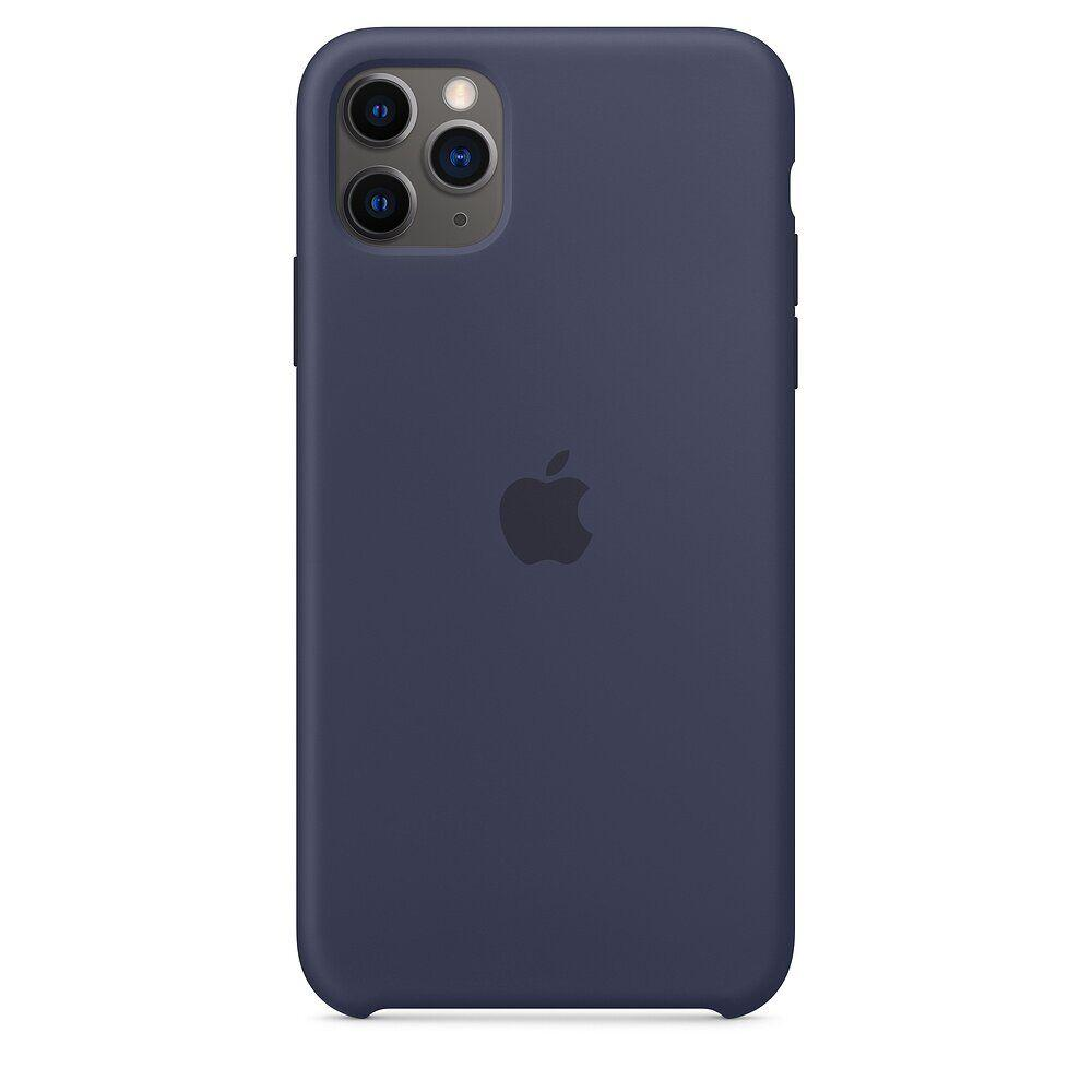 Силиконовый чехол для Apple iPhone 11 Pro Max (Midnight Blue)